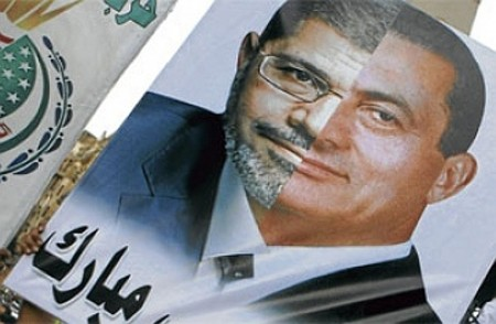 Will Morsi meet the same fate as Mubarak? Time will tell...