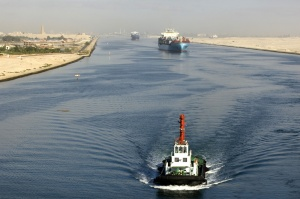 The Suez Canal Corridor Development Project is the most ambitious large-scale infrastructure project in the Suez Canal since its construction (Source of picture: www.madamasr.com)