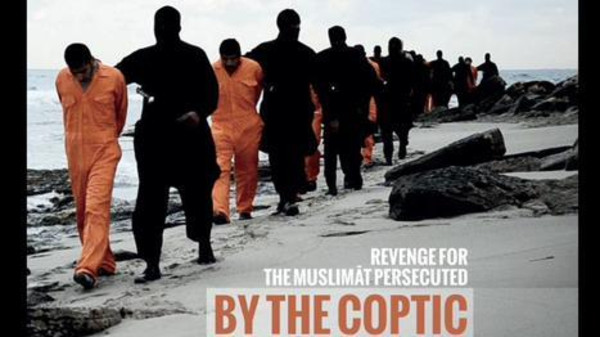 The video, which shows the grisly beheading of 21 Coptic Christians, has disturbed and shocked many Egyptians. (Source: Al Arabiya.com)