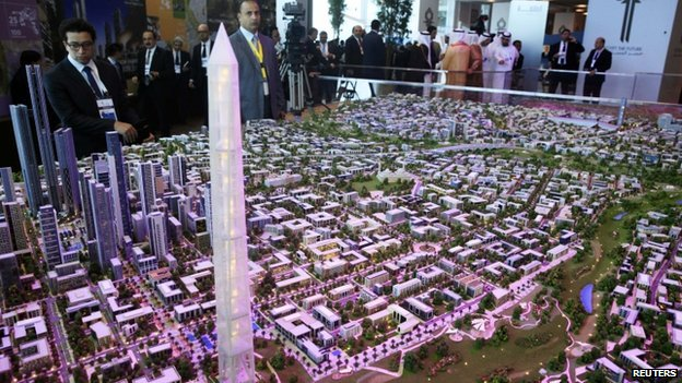 The shining model of the proposed new capital highlights the ambitious nature of trying to change the face of Egypt's capital city